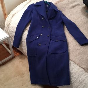 Cobalt Blue Free People Coat